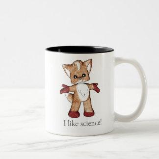 Jaspe a caneca do Fox eu gosto da ciência!