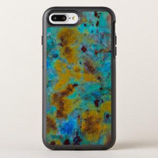 Jaspe azul manchado de Chrysocolla Capa Para iPhone 8 Plus/7 Plus OtterBox Symmetry