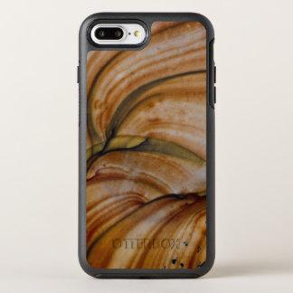 Jaspe de cor castanha de Deschutes Capa Para iPhone 8 Plus/7 Plus OtterBox Symmetry