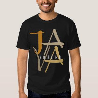 Java abasteceu o t-shirt escuro básico
