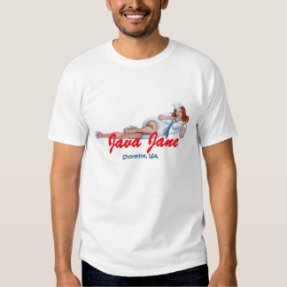 """Java Jane """"apenas não os beija adeus """" Tshirts"""