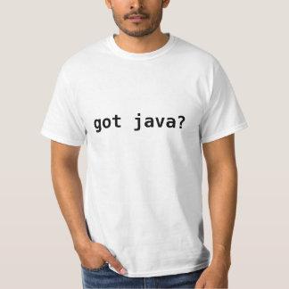 java obtido? camiseta