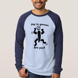 Jay é jogos, é você? tshirts