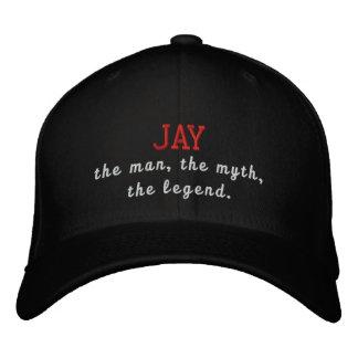 Jay o homem, o mito, a legenda boné bordado