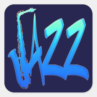 Jazz Adesivos Quadrados