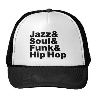 Jazz & alma & funk & Hip Hop Boné