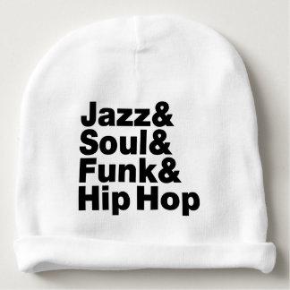 Jazz & alma & funk & Hip Hop Gorro Para Bebê