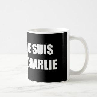 JE SUIS CHARLIE CANECA DE CAFÉ