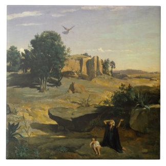 Jean-Baptiste-Camilo Corot - Hagar