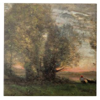 Jean-Baptiste-Camilo Corot - pescador