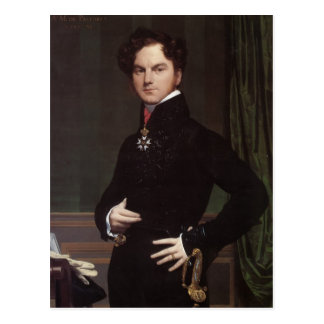 Jean Ingres- Amedee-David, Comte de Pastoret Cartão Postal