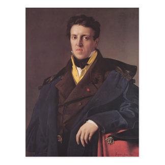 Jean Ingres- Charles-Marie-Jean-Baptiste Marcotte Cartão Postal