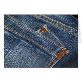 Jeans Cartão Comemorativo