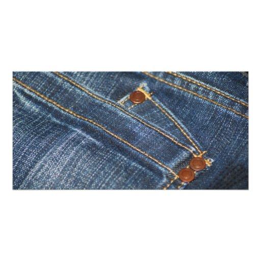 Jeans Cartões Com Foto