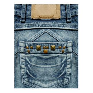 jeans cartão postal