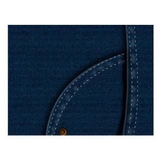 Jeans da sarja de Nimes Cartoes Postais