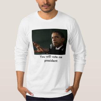 Jedi presidencial t-shirts