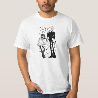 Jeff o homem delgado do assassino t-shirts