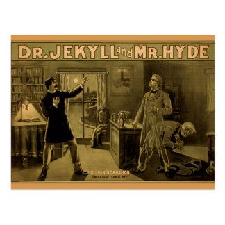 Jekyll & Hyde - cartão
