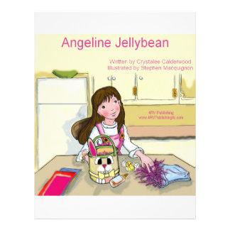 Jellybean de Angeline que obtem pronto para a pásc Panfleto Personalizado