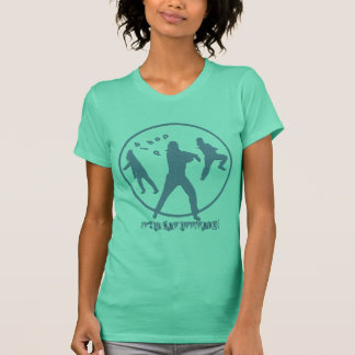 Jérsei americano da multa do roupa da hortelã da t-shirts