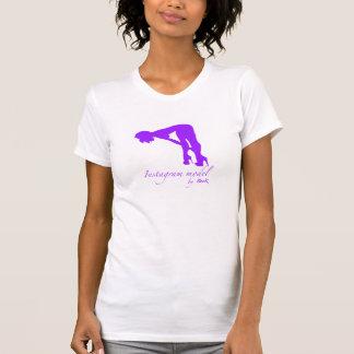 Jérsei americano T da multa do roupa das mulheres T-shirt