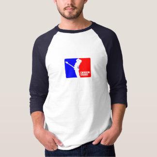 Jérsei de basebol do CG 3/4 Camiseta