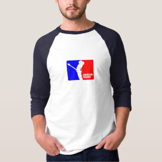 Jérsei de basebol do CG 3/4 Tshirt