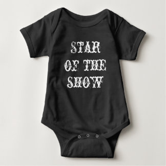 "Jérsei do bebê, bodysuit infantil ""estrela da body para bebê"