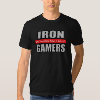 Jérsei dos Gamers do ferro (cisne) Tshirts