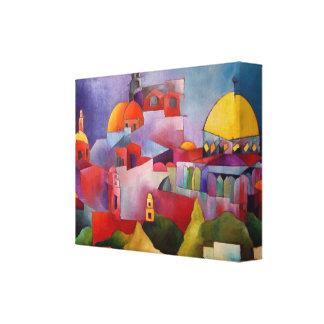 Jerusalem Impressão De Canvas Envolvidas