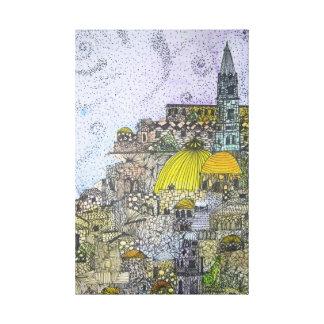 Jerusalem Impressão Em Tela Canvas