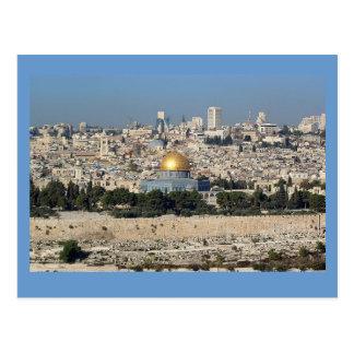 Jerusalem Israel Cartão Postal