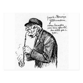 Jerusamels Skomaker por Theodor Severin Kittelsen Cartão Postal