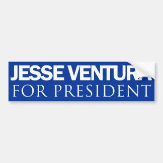 Jesse Ventura para o presidente - azul liso Adesivo Para Carro