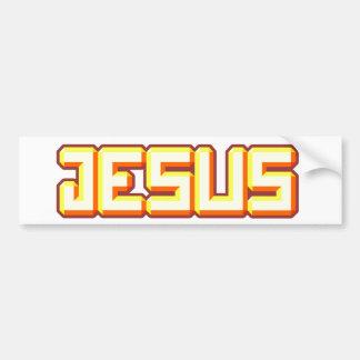 Jesus 3 adesivo para carro