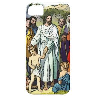 Jesus ama as crianças pequenas capa barely there para iPhone 5