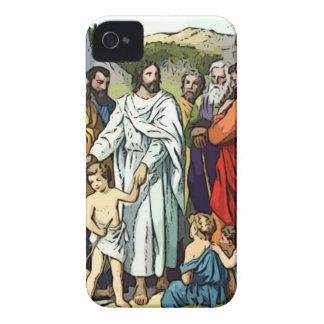 Jesus ama as crianças pequenas capinhas iPhone 4