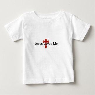 Jesus ama-me camisa infantil de T