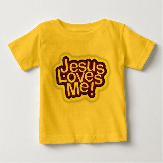 Jesus ama-me camisa t-shirt