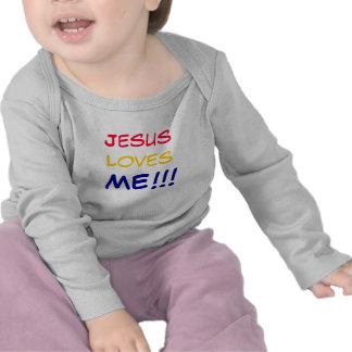 Jesus ama-me!! tshirts