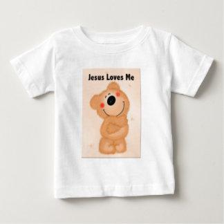 Jesus ama-me camisetas