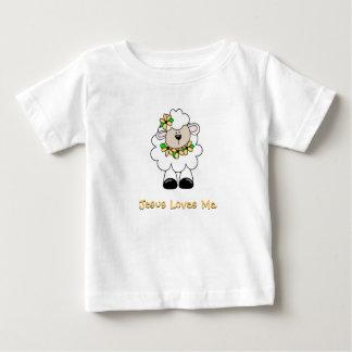 Jesus ama-me cordeiro camisetas