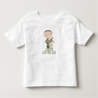 Jesus ama-me menino t-shirts