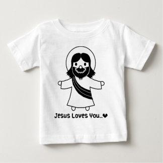 Jesus ama-o camisetas