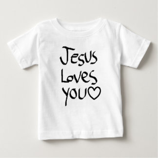Jesus ama-o t-shirts