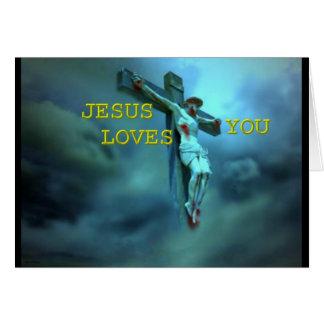 Jesus ama-o cartão