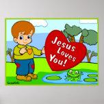 Jesus ama-o! poster