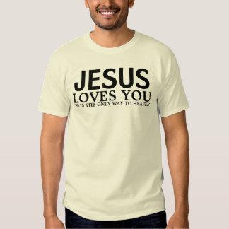 JESUS AMA-O TSHIRT