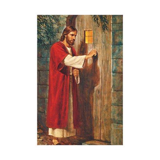 Jesus bate na porta zazzle for Jesus a porta